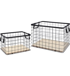 HZ1008010.Wire basket Set/2