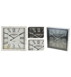 Y36400040. Square Wall Clock LC