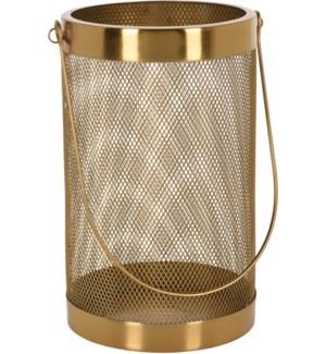 Lantern Mesh Iron Gold Clr