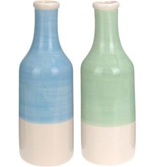 Dolomite Vase Tall 2 Asstd 3.9x11.42inch. *last chance* On Sale 30 percent off!