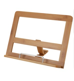 784200190.Bamboo Book Stand LC