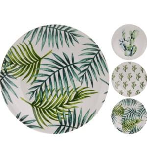 Cactus Plate, 3/Asst, 8   diametre LAST CHANCE! On sale 30 percent off!