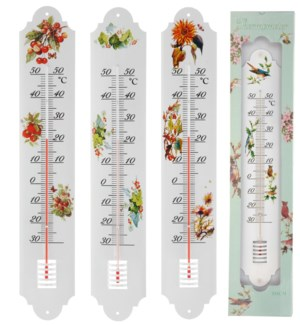 836010700.Metal Thermometer 4/Asst L LC