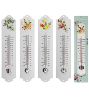 836010720. Metal Thermometer 4/Asst S LC