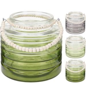ASH900140 Glass Lantern Smll OS