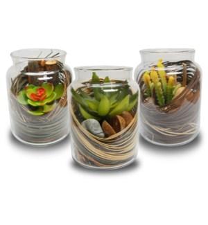 D22200030 Faux Plants In Glass On Sale