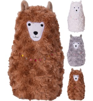 HZ1908510-Alpaca Door Stopper, 3/Asst, 6.3x5x9.6 in