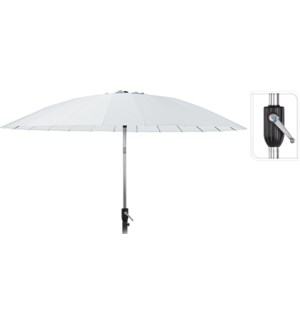 FD1000040 NOLA UMBRELLA SHANGHAI 270CM WHITE