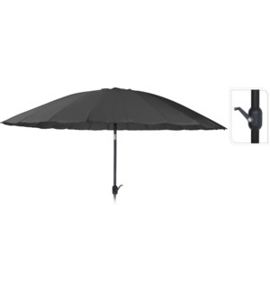 FD1000210 NOLA UMBRELLA SHANGHAI 325CM CHARCOAL