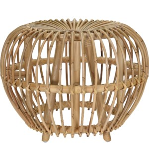 J11300530 AZALEA STOOL KUBU BRUSSEL NATURAL CLR