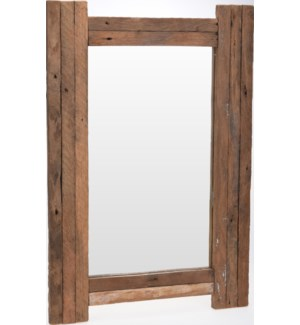 J11300900 AITANA MIRROR WITH RECLAIMED TEAKWOOD