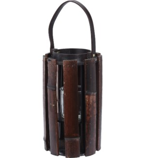 LA6000010 BORIS LANTERN BAMBOO WITH HANDLE