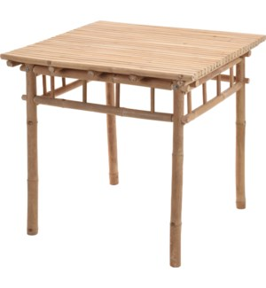 VT6000630 PAX TABLE BAMBOO 78X78X74CM