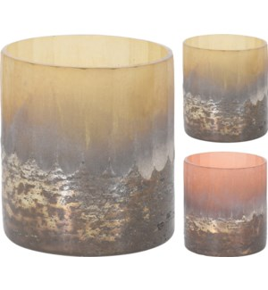 A44330000 EMBER TEALIGHT HOLDER GLASS 2ASS CLR