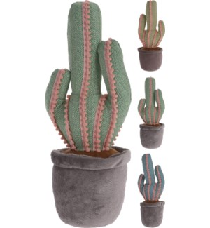 HZ1007560 Cactus Door Stopper, Polyester