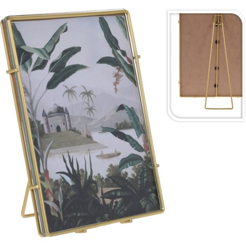 """HZ1300520-Gold Photo Frame, M"""