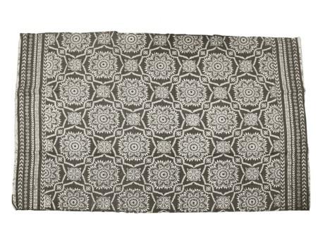 A54101050. Carpet 180X120Cm Grey Cotton 70.9x47.2xinch. On sale 50% off -