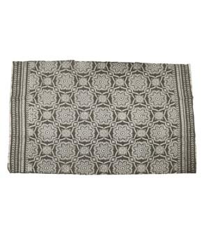 A54101050. Carpet 180X120Cm Grey Cotton 70.9x47.2xinch. On sale 50% off