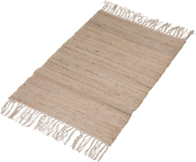 A35831000-Lenor Rug, S, Sand, Cotton/Jute, 24x36 in