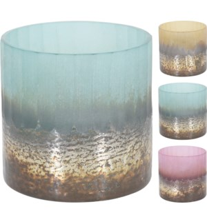 A44330070 SAWYER TEALIGHT HOLDER GLASS 3ASS CLR