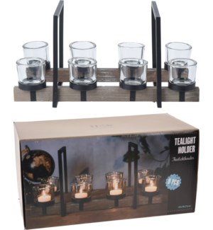 CC5056030 CIANA TEALIGHT HOLDER SET 8PCS