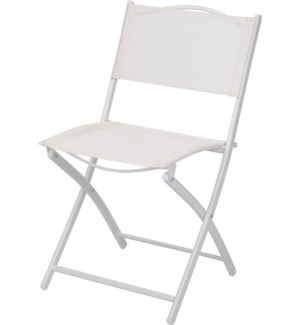Metal Bistro Chair Wt LC