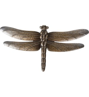 """Metal Wall Decoration Dragonfly, 46.5X24cm, 2 Ass."""