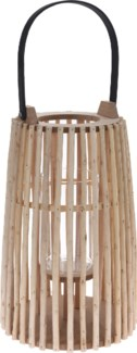 HZ1008400 Willow Lantern Bamboo Handle, Small 8.6x12.6 in.