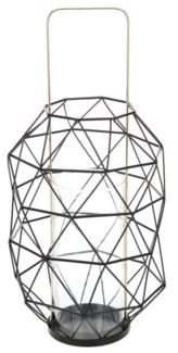 ASH302330. Lantern Metal Wire Metal 7.7x7.7x16.1inch.  - ON SALE 50 percent off original price 25