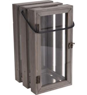 500000500-Wooden Crate Lantern