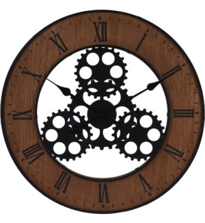 HZ1300630 WALL CLOCK 'INDUSTRIAL LOOK WITH SPROC