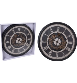 """KL5000020 WALL CLOCK PP, TOTAL SIZE 765X90MM"""