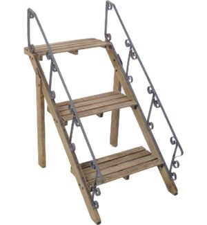 Wooden Steps Potplant Stand 24.8x21.3x33.5inch On sale 40 percent off!