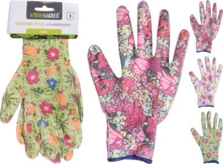 CK9900530 - Floral Gloves 3Asst