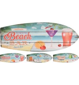 Surfboard Wall Decor 3Asst LC