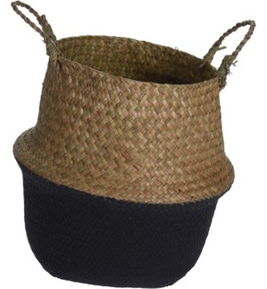 HZ1777200-Rice Basket w/Black, Sml, 11x10 inch