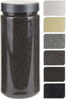 HZ1930060-Decoration Sand, 5/Asst, 2.6x2.6x6 in 750 Gr