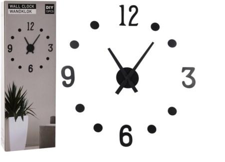 HX9000160 - DIY Wall Clock, MDF, Black LAst Chace! On sale 30 percent off