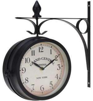 HX9900100 - Wall Clock 13x3.5x13 inches