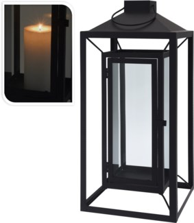 HZ1008030 - Floating Lantern LG, Metal, 8.7x8.7x20 inches - ON SALE 30 percent off original price