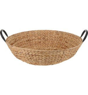 Basket Round 50x12.5cm with Handles.On sale 50 percent off Last Chance!