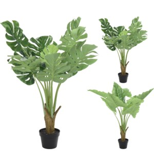 318000070-Artificial Tropical Plant, 2Asst. 26 inch