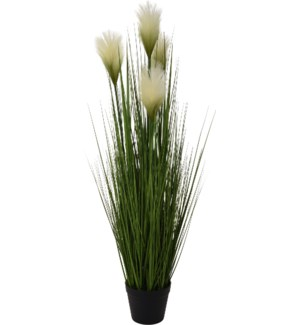 320000020-Artificial Grassy Plant, 43 inch
