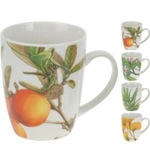 Jumbo Flower Mug With Assorted Designs 4.7x3.2x4.1 On sale 30 percent off!