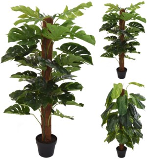 318000040 - Artificial Indoor Plant, 47 in high. 2 Asst