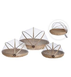 J11400070-Foodcover Bamboo Set