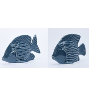"""ALX116050-Decor Fish, 2/Asst,"""