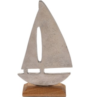"""A44321510-Alum Boat Statue, M"""