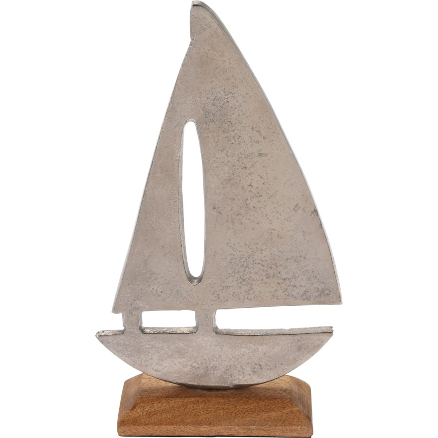 A44321510-Alum Boat Statue M