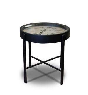 HZ1300620 Clock Side Table, 16  D